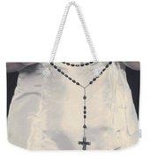 Rosary Weekender Tote Bag by Joana Kruse