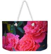 Rose 138 Weekender Tote Bag by Pamela Cooper