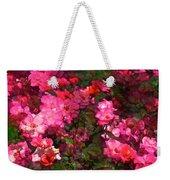 Rose 202 Weekender Tote Bag by Pamela Cooper