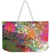 Rose 207 Weekender Tote Bag by Pamela Cooper