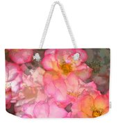 Rose 210 Weekender Tote Bag by Pamela Cooper