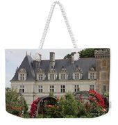 Rose And Cabbage Garden Chateau Villandry Weekender Tote Bag