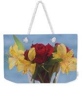 Rose And Peruvian Lilies Weekender Tote Bag