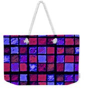 Rose And Purple Sudoku Weekender Tote Bag