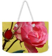Rose And Rose Buds Weekender Tote Bag