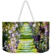 Rose Arch In Summer Sunshine Weekender Tote Bag
