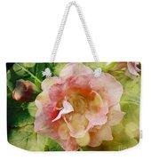 Rose Begonia In Pink Weekender Tote Bag