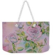 Rose Bloom Weekender Tote Bag
