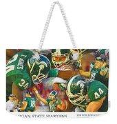 Rose Bowl Collage Weekender Tote Bag