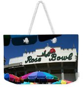 Rose Bowl Weekender Tote Bag
