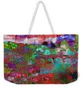 Rose Bridge Landscape Weekender Tote Bag