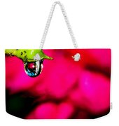 Rose Bud After Rain Weekender Tote Bag