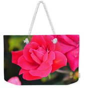 Rose Bush Weekender Tote Bag