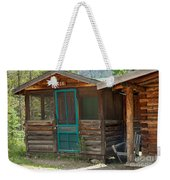 Rose Cabin At The Holzwarth Historic Site Weekender Tote Bag