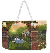 Rose Cottage - Dinner For Two Weekender Tote Bag