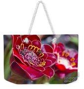 Rose De Porcelaine Weekender Tote Bag