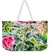 Rose Expressive Brushstrokes Weekender Tote Bag