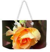 Rose - Flower - Card Weekender Tote Bag