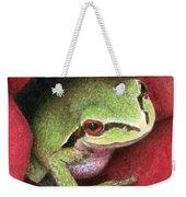 Rose Frog Weekender Tote Bag