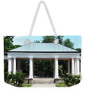 Rose Garden Pergola In Delaware Park Buffalo Ny Oil Painting Effect Weekender Tote Bag