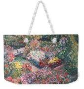 Rose Garden Weekender Tote Bag