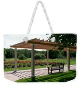 Rose Garden Retreat Weekender Tote Bag