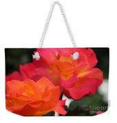 Rose Glow Weekender Tote Bag