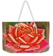 Rose Greeting Card Birthday Weekender Tote Bag