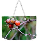 Rose Hip Wet Weekender Tote Bag