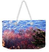 Rose Hips By The Seashore Weekender Tote Bag
