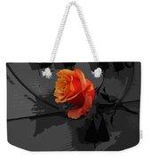 Rose IIi - A Message Weekender Tote Bag