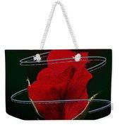 Rose In A Dark Weekender Tote Bag