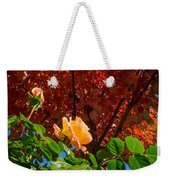 Rose In Autumn Weekender Tote Bag