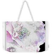Rose In Pastels Weekender Tote Bag