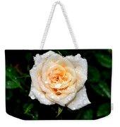 Rose In The Rain Weekender Tote Bag