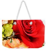 Rose Is A Rose Weekender Tote Bag