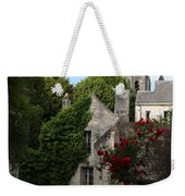 Rose Lane In Loches Weekender Tote Bag