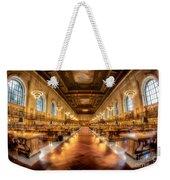 Rose Main Reading Room Weekender Tote Bag