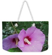 Rose Mallow Weekender Tote Bag