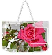 Rose Montage Weekender Tote Bag