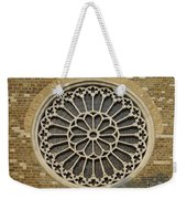 Rose Of The Cathedral Of San Giusto Weekender Tote Bag