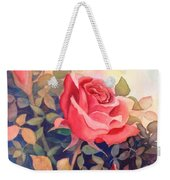 Rose On A Warm Day Weekender Tote Bag