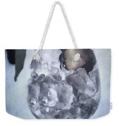 Rose On The Rocks Weekender Tote Bag by Joana Kruse