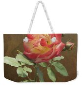 Rose On Thornridge Road Weekender Tote Bag