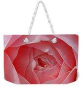Rose Opening Weekender Tote Bag