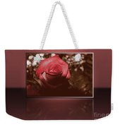 Rose Reflection 1 Weekender Tote Bag