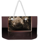 Rose Reflection Weekender Tote Bag