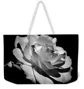 Rose Weekender Tote Bag by Rona Black
