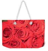 Rose Swirls Weekender Tote Bag
