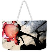 Rose To The Side 5 Weekender Tote Bag